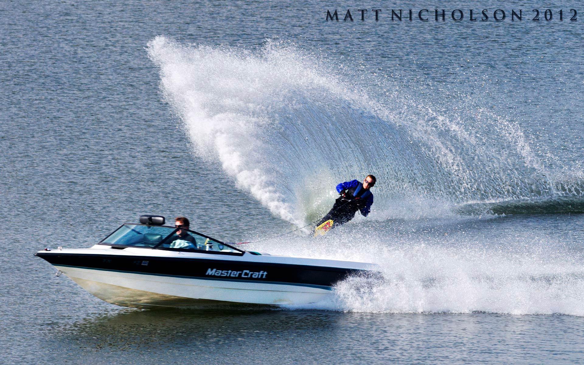 Water Skiing Matt Nicholson Photography